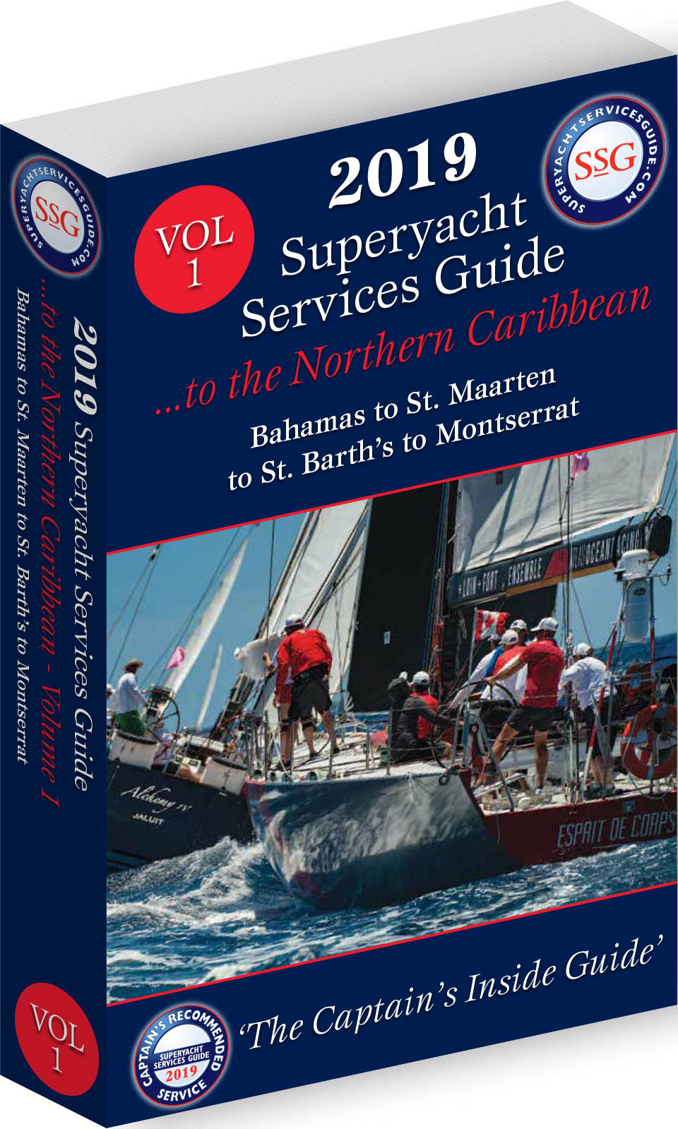 Caribbean Vol 1 - The Northern Caribbean | Superyacht Services Guide