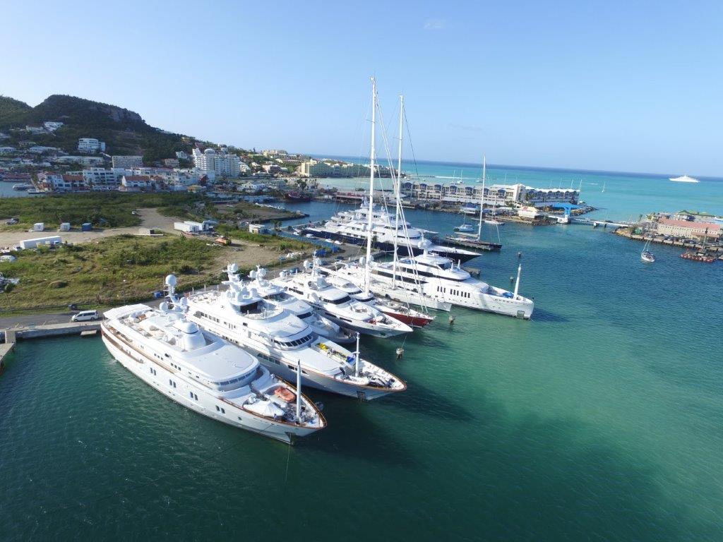 Isle de Sol Marina, St  Maarten - An IGY Marina | Superyacht