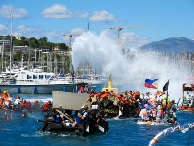 Antibes Raft Race 2018